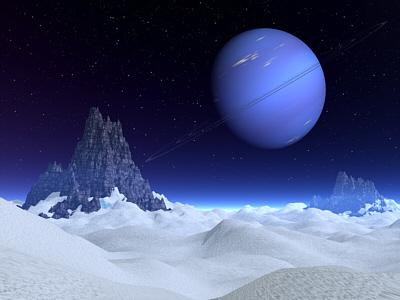 Landscape on Neptune by CabalcoTech on DeviantArt